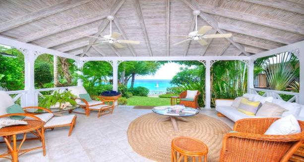 Barbados beach villa