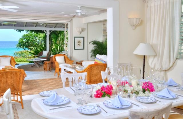 Barbados beach apartment