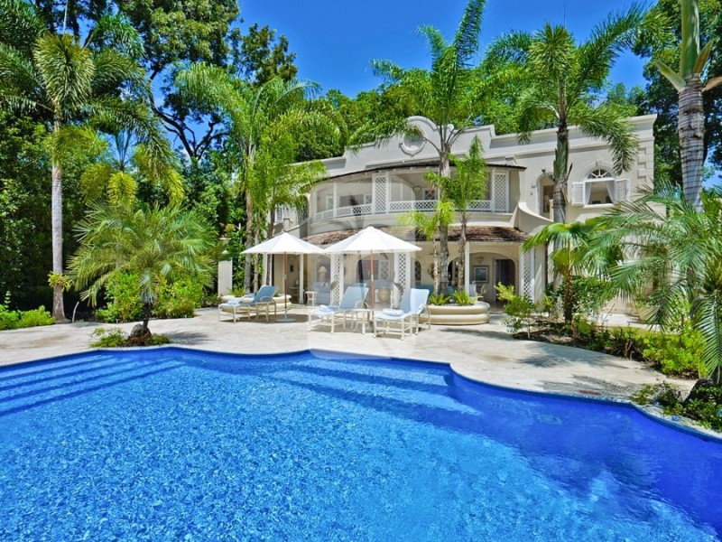 One of the many luxury Barbados villa rentals